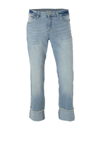 The Denim cropped straight fit jeans