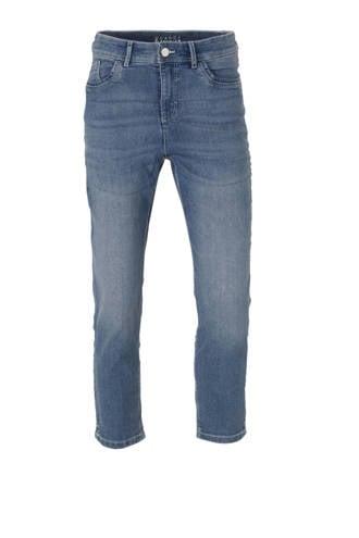 cropped high waist regular fit jeans