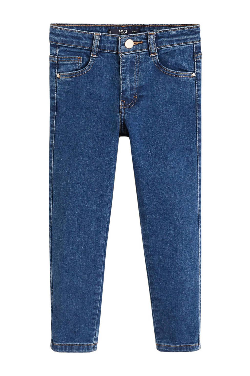Mango Kids skinny jeans, Dark denim