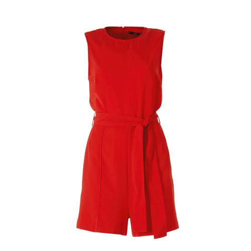 Mango playsuit rood