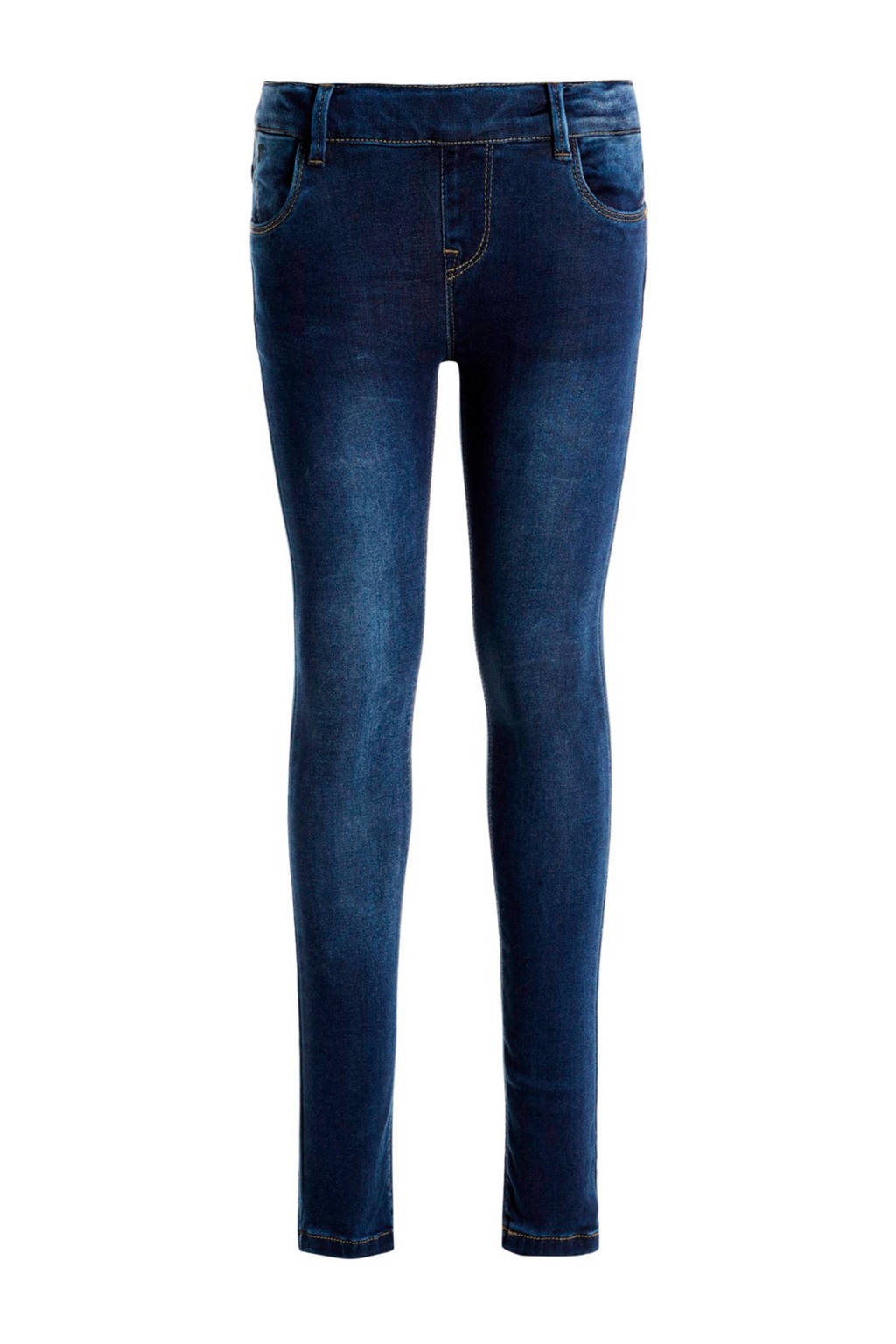 NAME IT KIDS skinny fit jeans Polly dark blue denim, Dark blue denim
