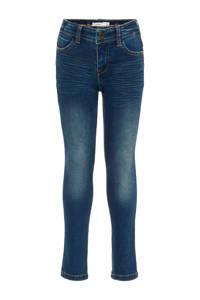 NAME IT KIDS slim fit jeans NKMTHEO dark blue denim, Dark blue denim