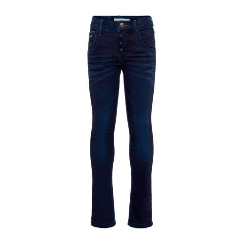 NAME IT KIDS x-slim fit jeans dark blue denim
