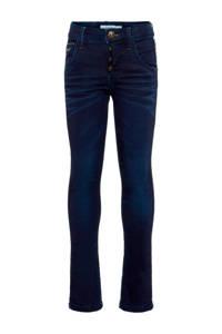 NAME IT KIDS x-slim fit jeans dark blue denim, Dark blue denim