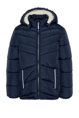winterjas Mus donkerblauw
