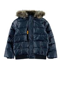 NAME IT KIDS winterjas Milas donkerblauw, Donkerblauw