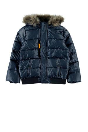 winterjas Milas donkerblauw