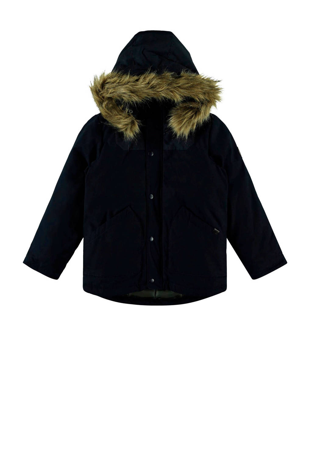 NAME IT KIDS winterjas donkerblauw, Donkerblauw