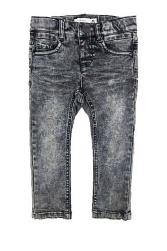 MINI slim fit jeans grijs