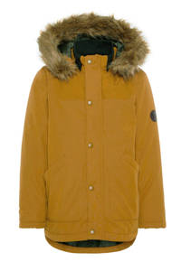 NAME IT KIDS parka winterjas okergeel, Okergeel