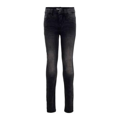 NAME IT KIDS slim fit jeans Theo zwart