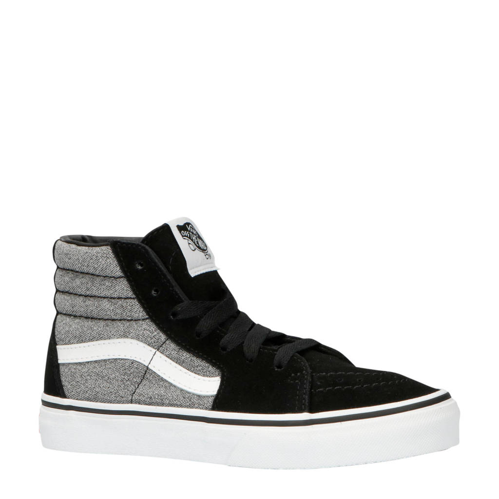 VANS  SK8-Hi sneakers zwart, Zwart/wit