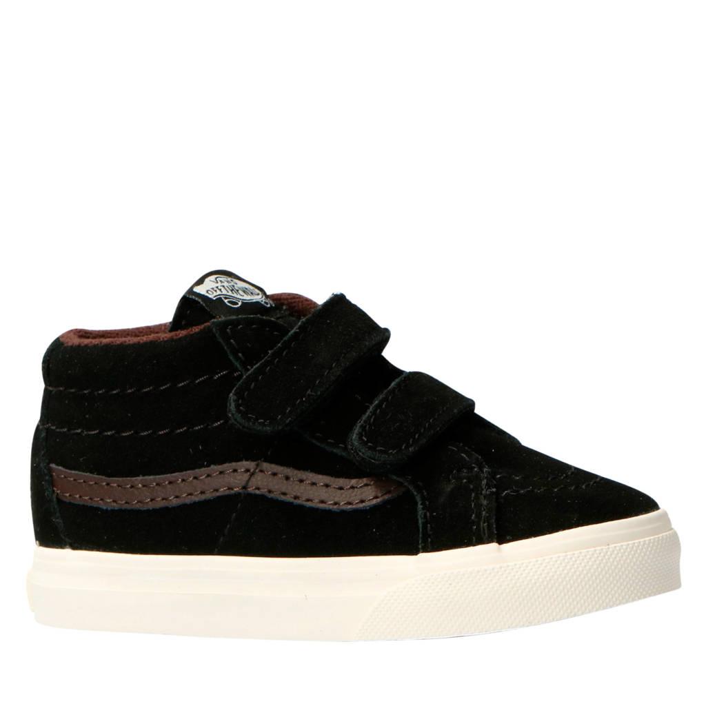 VANS  SK8-Mid Reissue V MTE suède sneakers zwart, Zwart/bruin