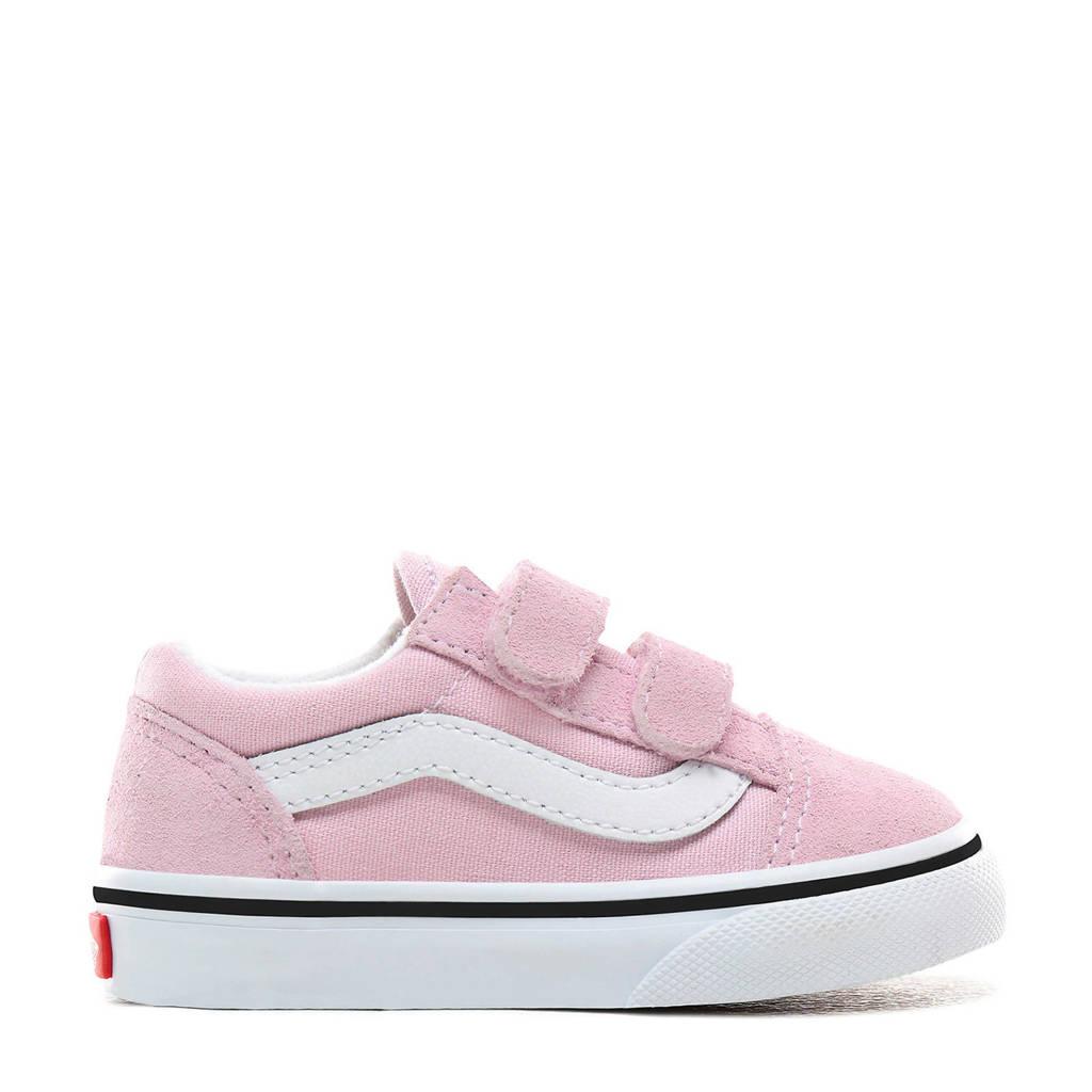 VANS  TD Old Skool V sneakers roze/wit, Roze/wit