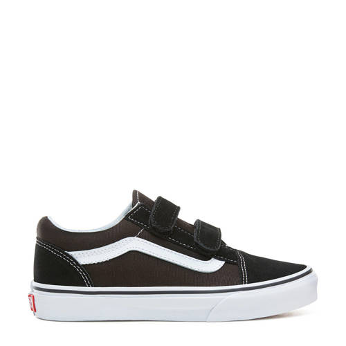 VANS TD Old Skool V sneakers zwart/wit