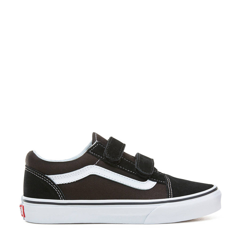 VANS TD Old Skool V sneakers zwart/wit, Zwart/wit