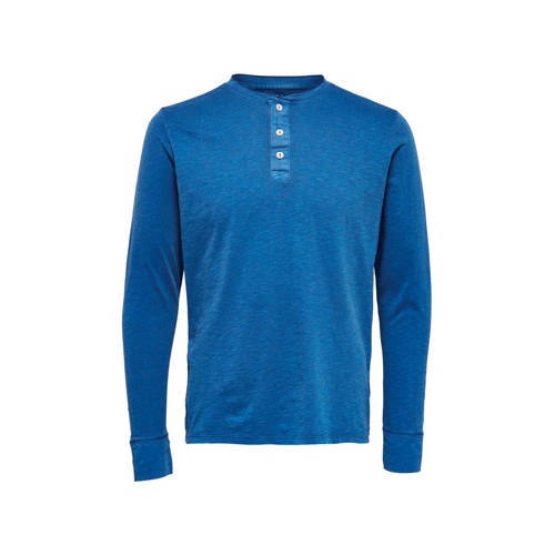 SELECTED HOMME T-shirt blauw