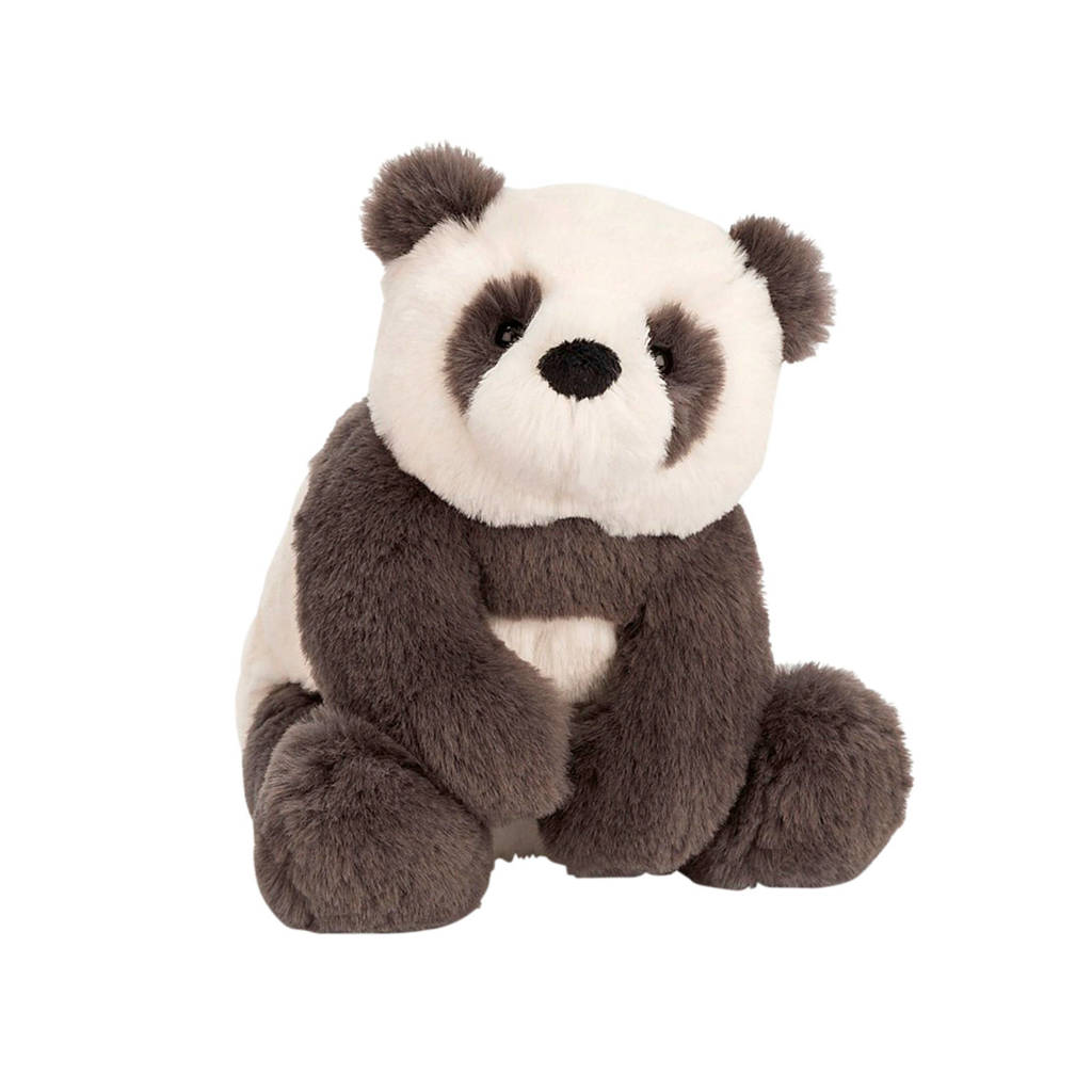 Jellycat Harry Panda Cub Small knuffel 19 cm, Grijs