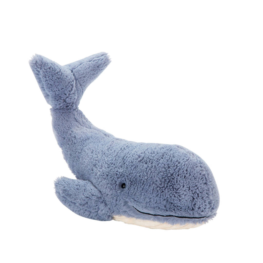 10e6a2fce56a50 Jellycat Wilbur Whale Small knuffel 13 cm | wehkamp