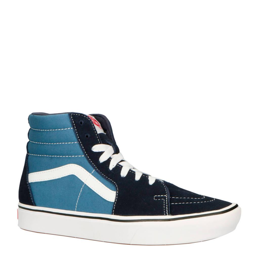 VANS  ComfyCush SK8-Hi sneakers blauw/wit, Blauw/donkerblauw/wit