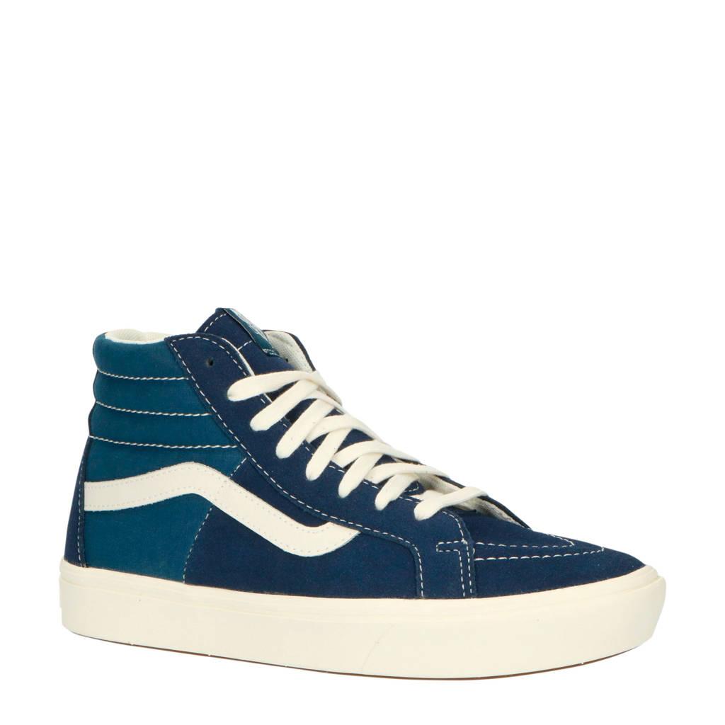 VANS ComfyCush SK8-Hi SPLT suède hoge sneakers blauw, Blauw