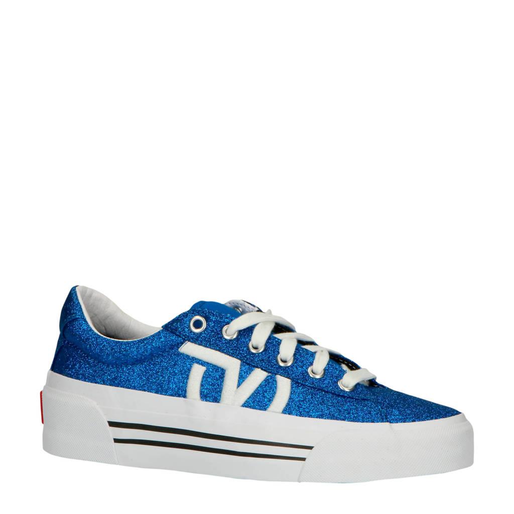 VANS  Sid Ni sneakers blauw, Blauw glitter