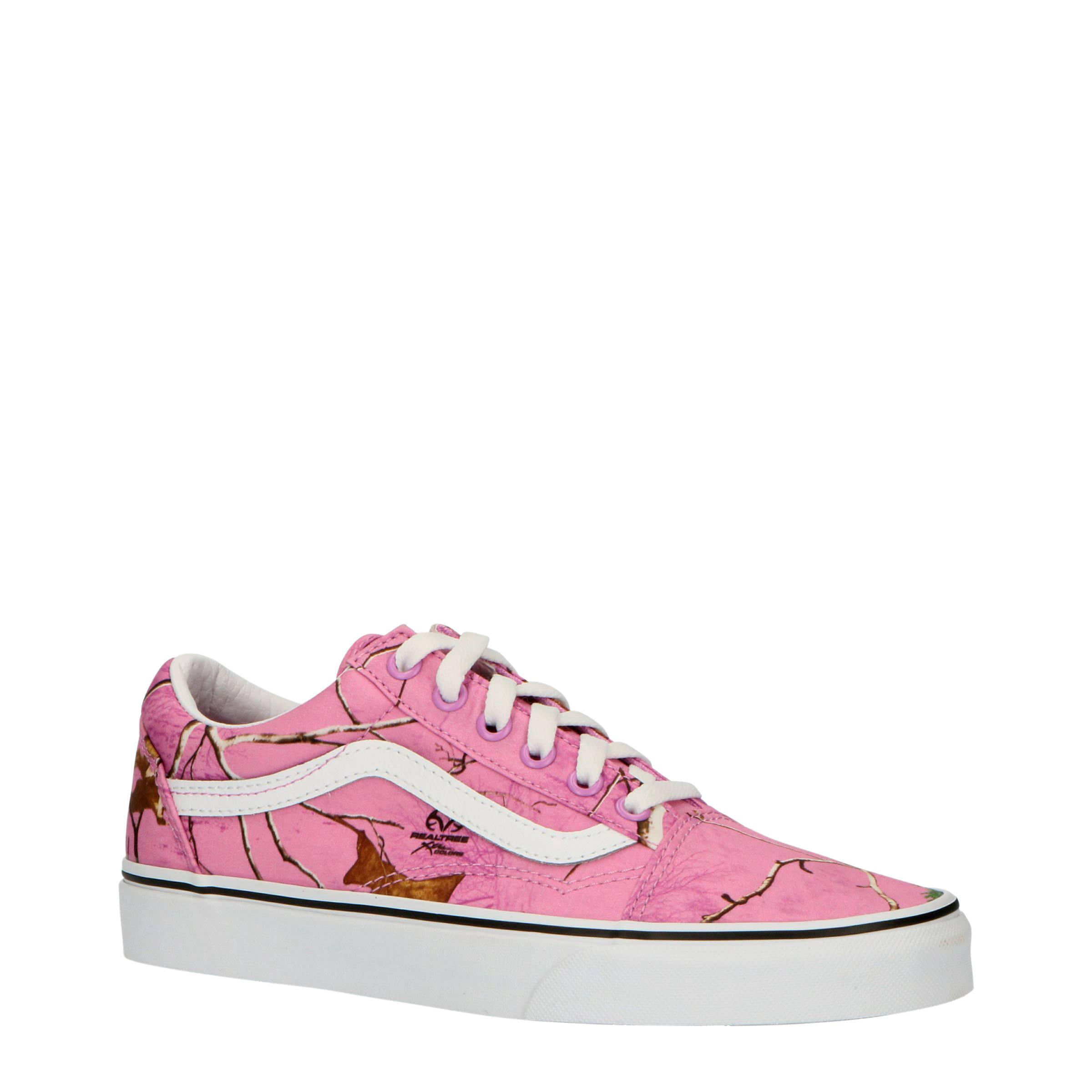Vans Old Skool Oudroze Dames 59,95 sneakers.nl | Oudroze