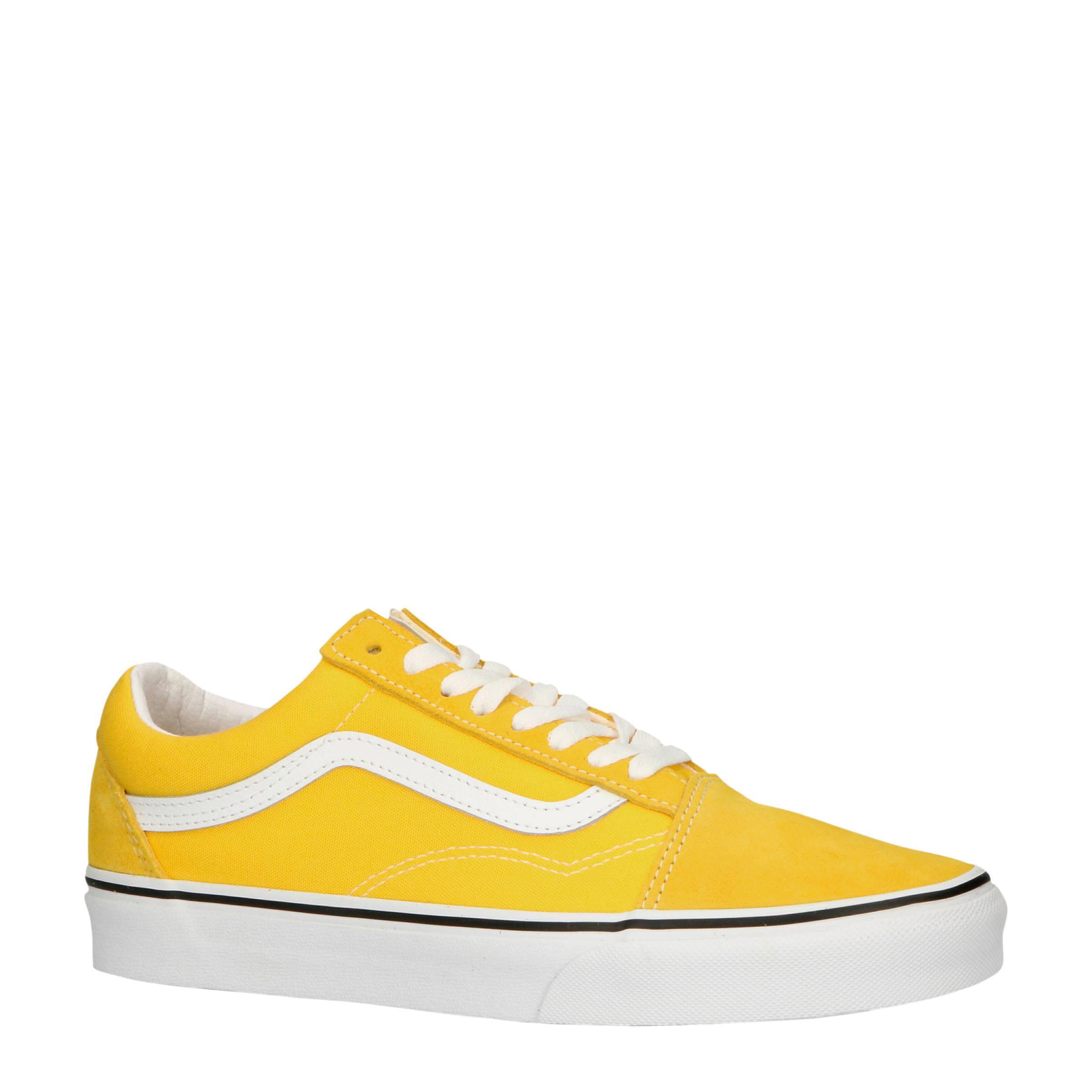 VANS Old Skool suède sneakers geel | wehkamp