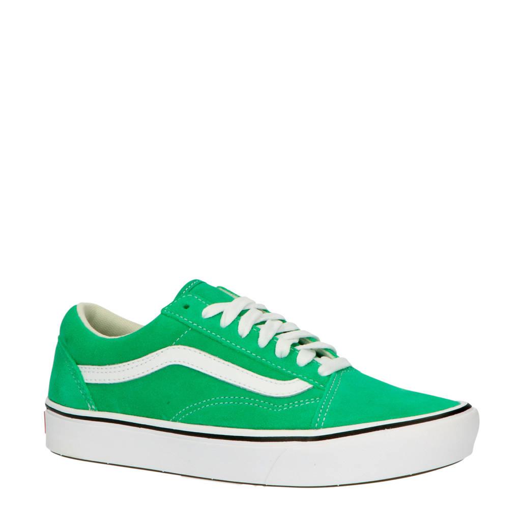 VANS ComfyCush Old Skool  suède sneakers groen, Groen
