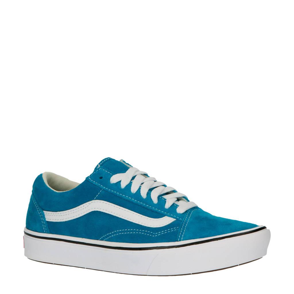 VANS ComfyCush Old Skool  suède sneakers blauw, Blauw