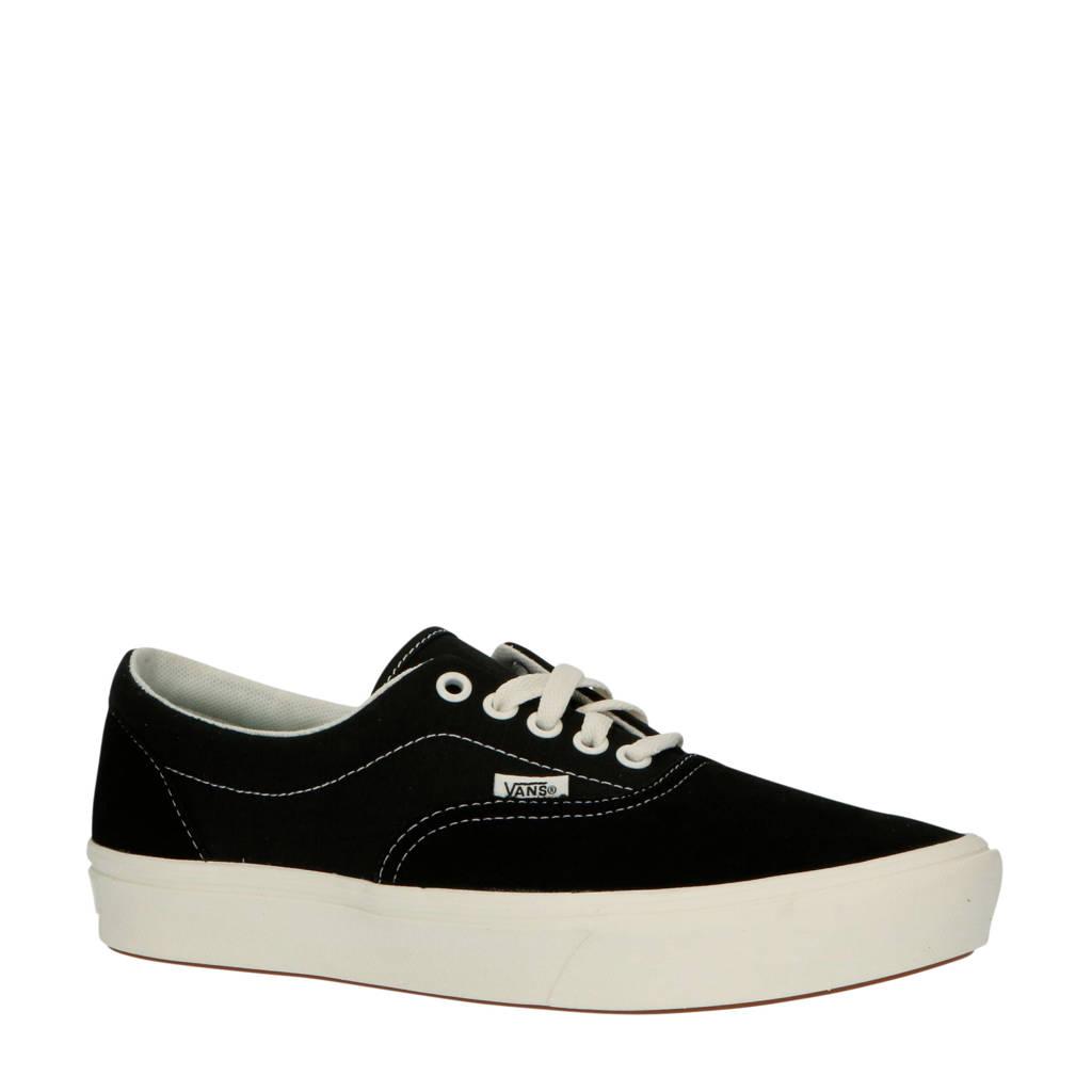 VANS ComfyCush Era  suède sneakers zwart, Zwart
