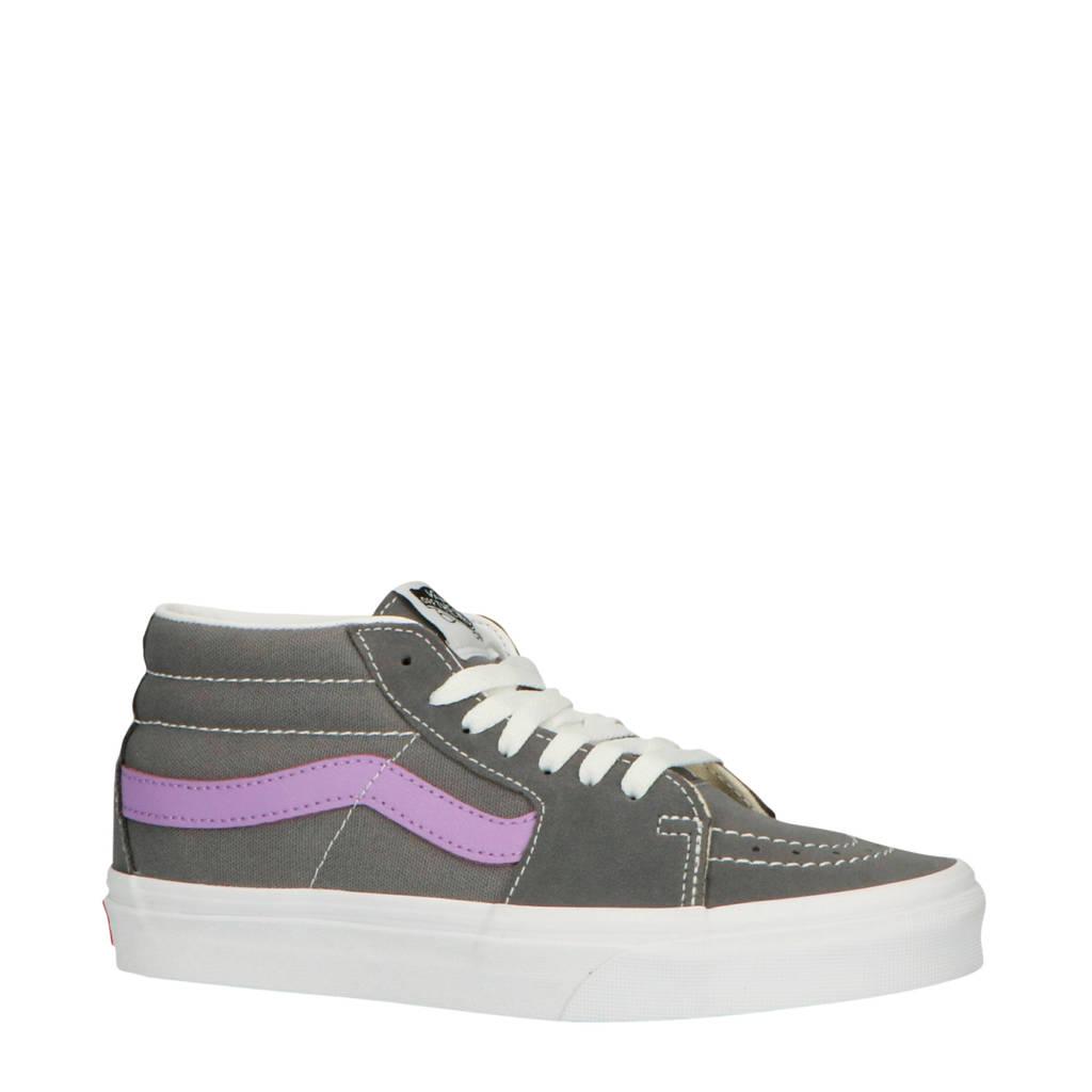 VANS  SK8-Mid sneakers grijs/paars, Grijs/paars