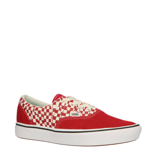 VANS UA ComfyCush Era sneakers rood/wit