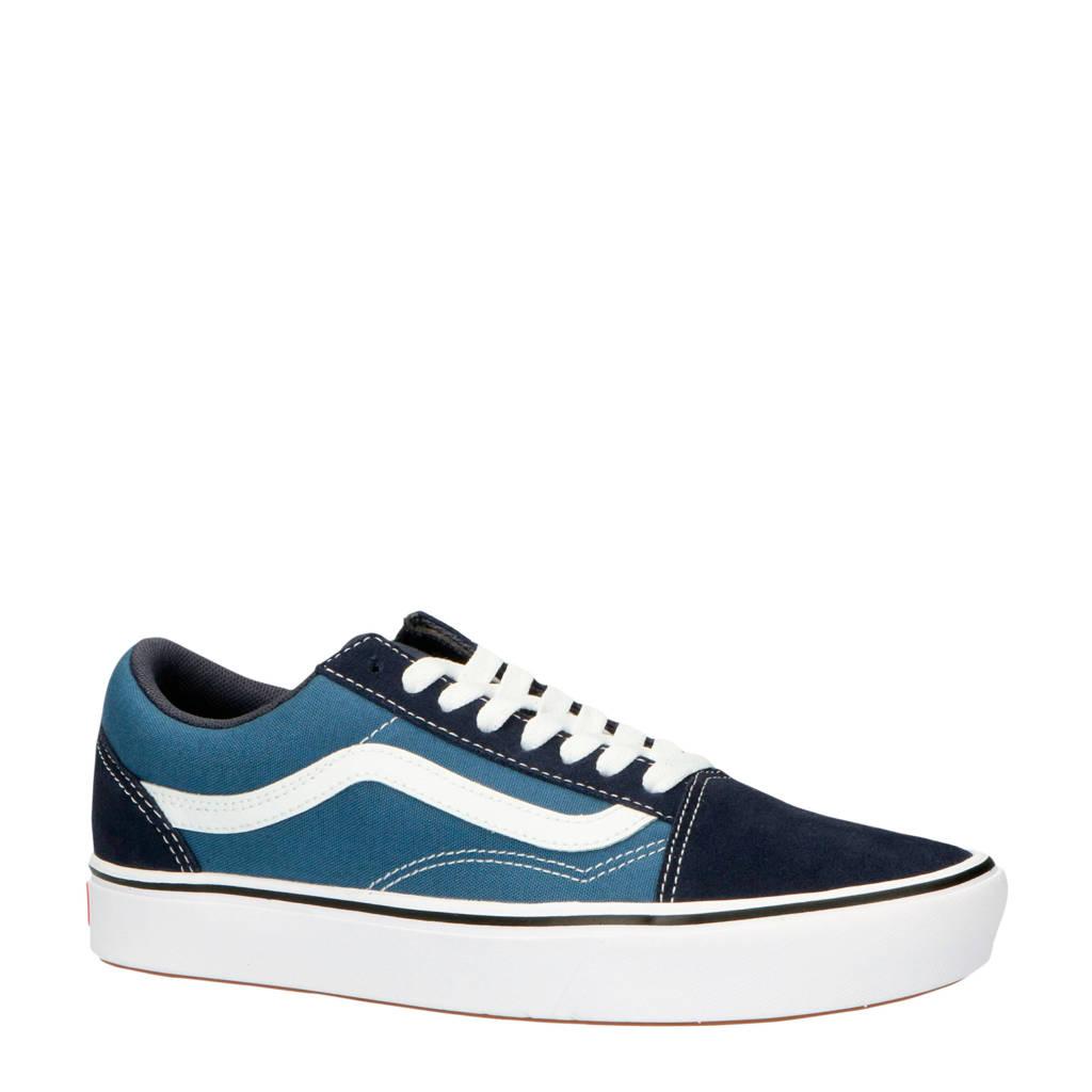 VANS  ComfyCush Old Skool sneakers blauw, Blauw/donkerblauw/wit