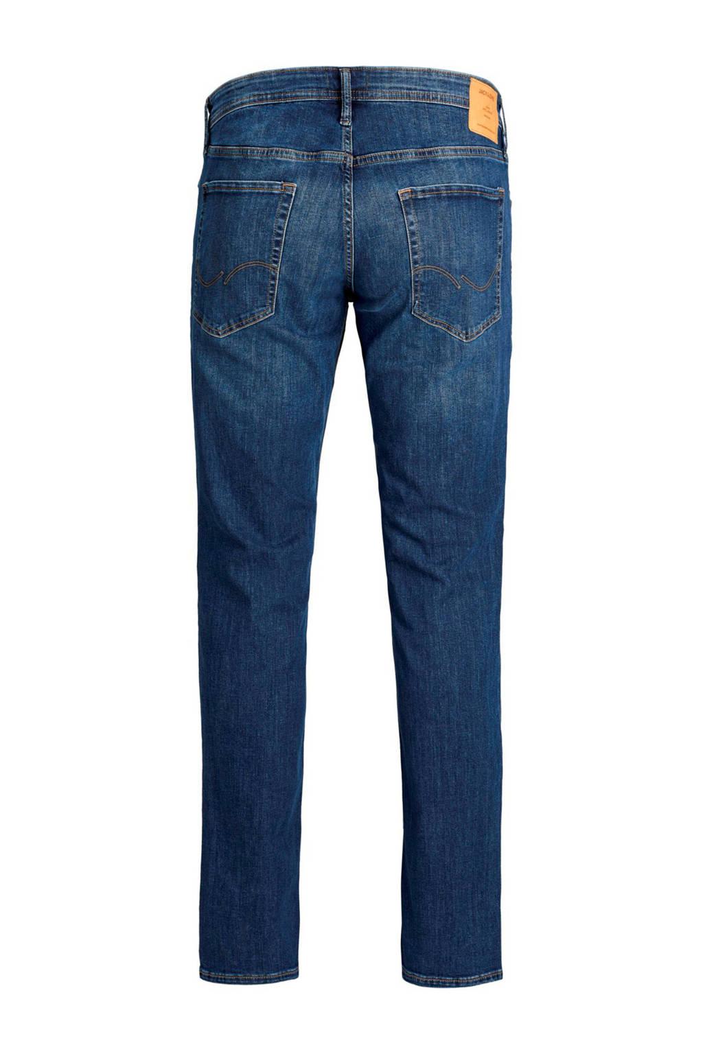 JACK & JONES PLUS SIZE slim fit jeans Jjitim Jjoriginal, Blue denim