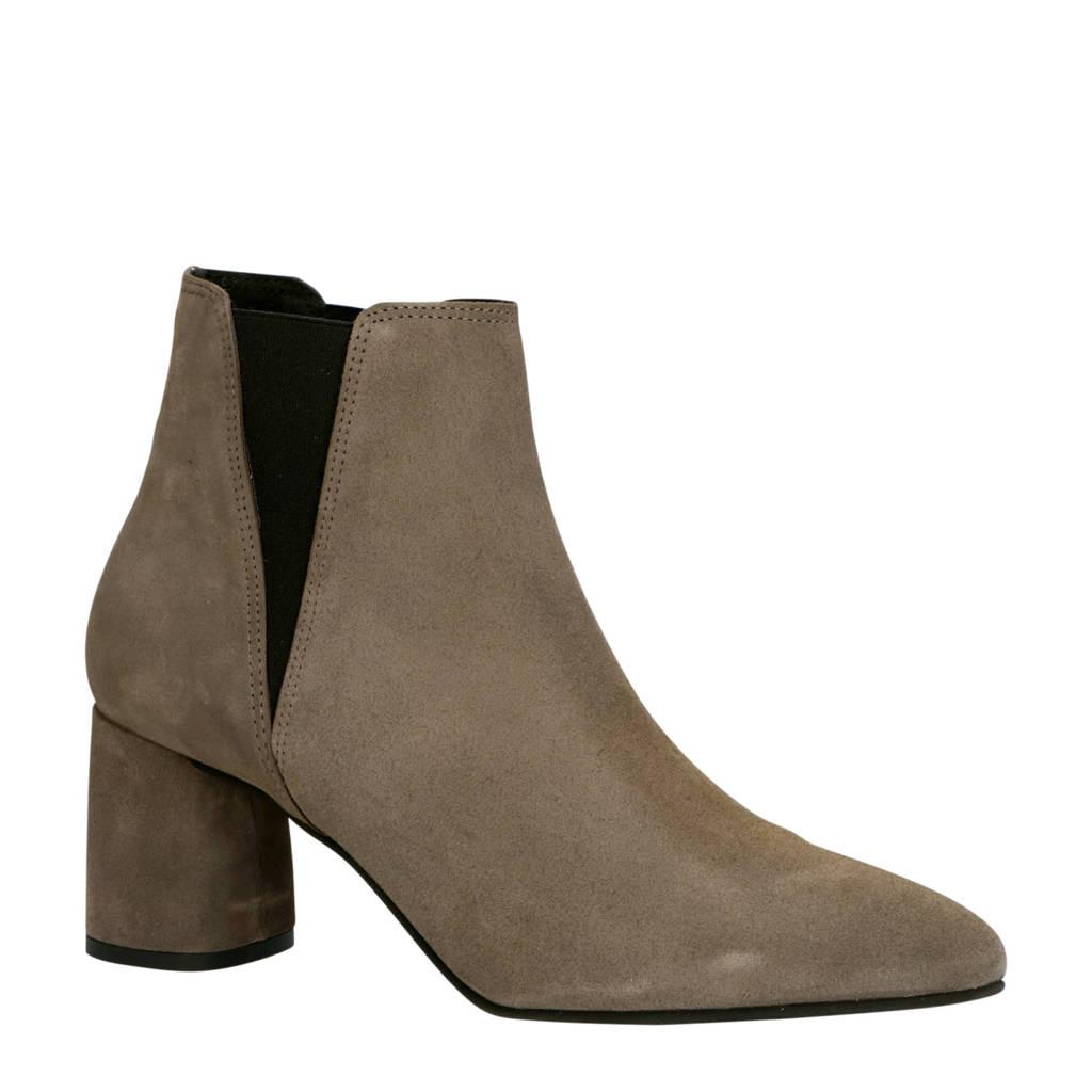 Bianco   26-50207 suède chelsea boots grijs, Grijs