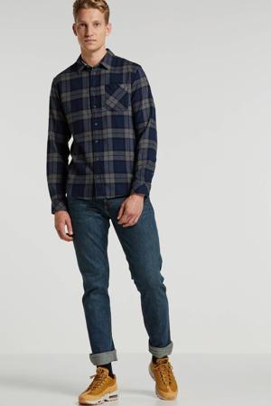 straight fit jeans Greensboro green night