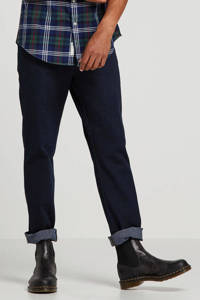 Wrangler straight fit jeans Texas blue black, Blue black