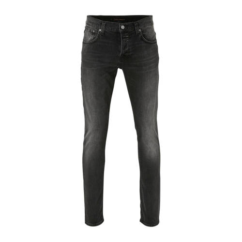 Nudie Jeans slim fit jeans Grim Tim concrete black