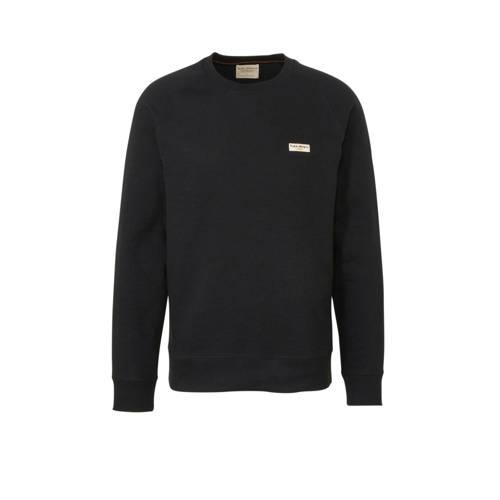 Nudie Jeans sweater van biologisch katoen zwart