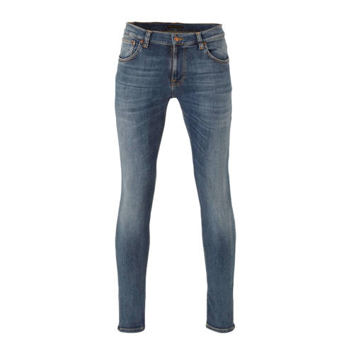 Nudie Jeans slim fit jeans Tight Terry steel navy