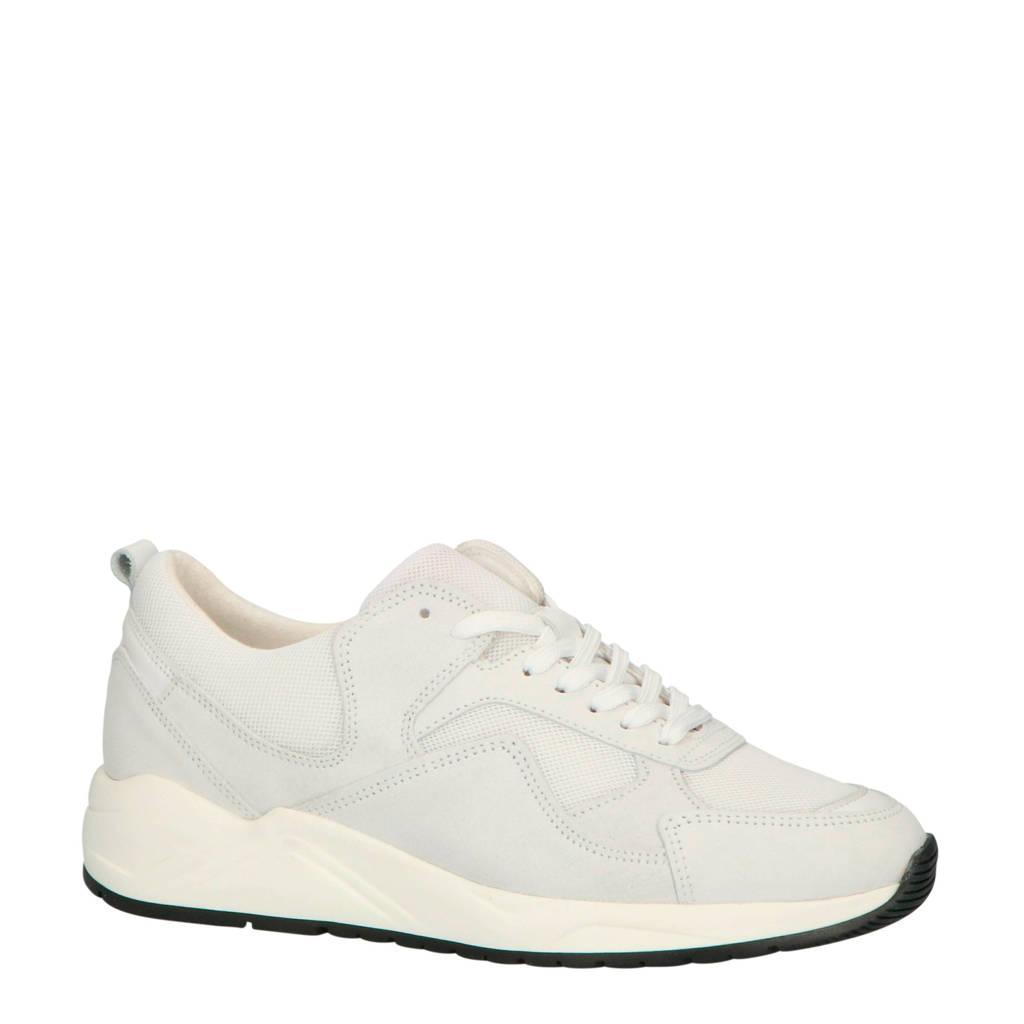 Bianco 64-71821  suède chunky sneakers lichtgrijs, Lichtgrijs