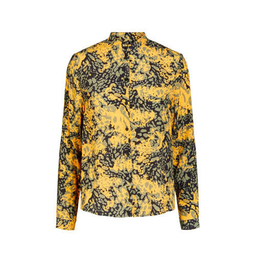 PIECES blouse met all over print