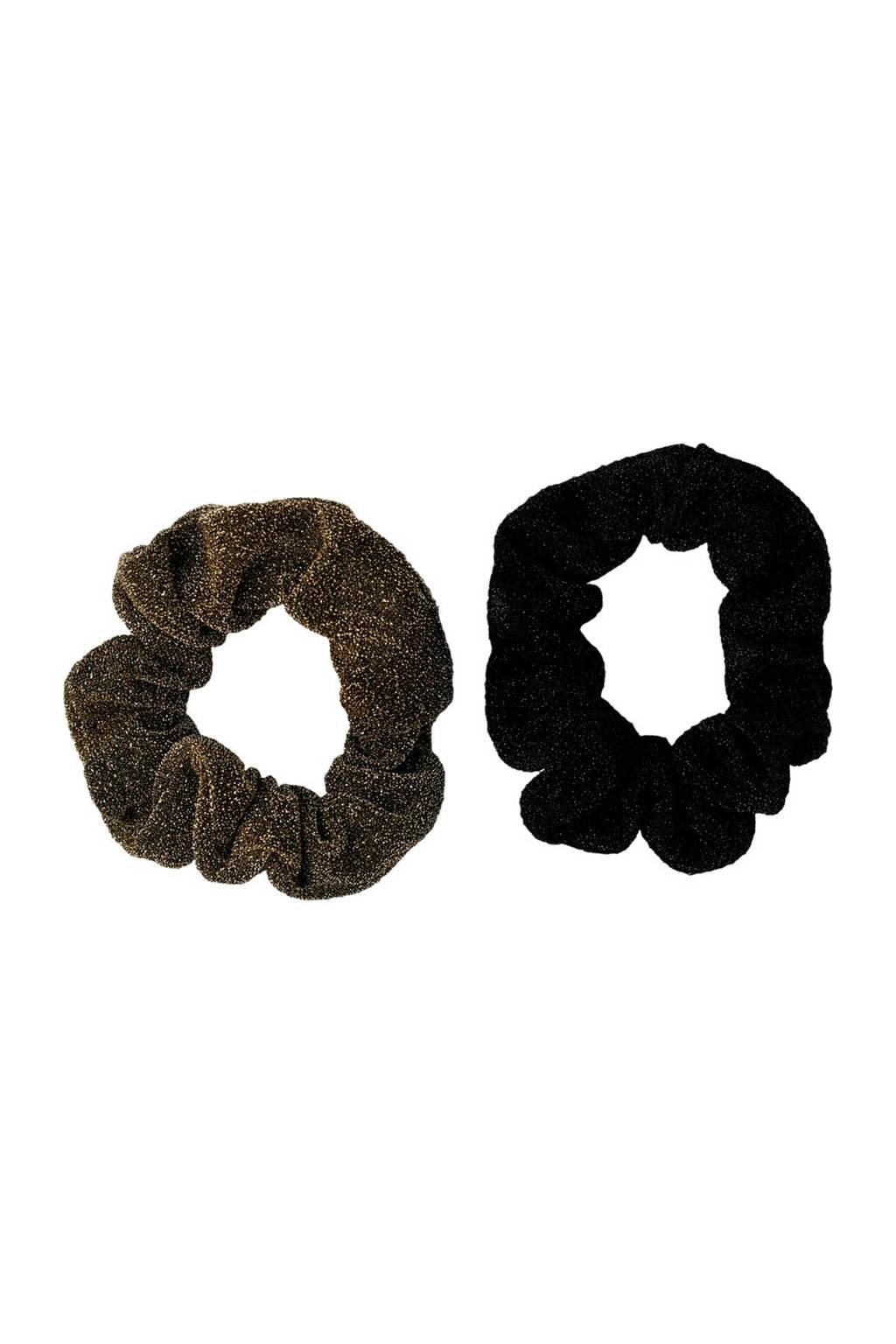 PIECES haarband zwart, Zwart