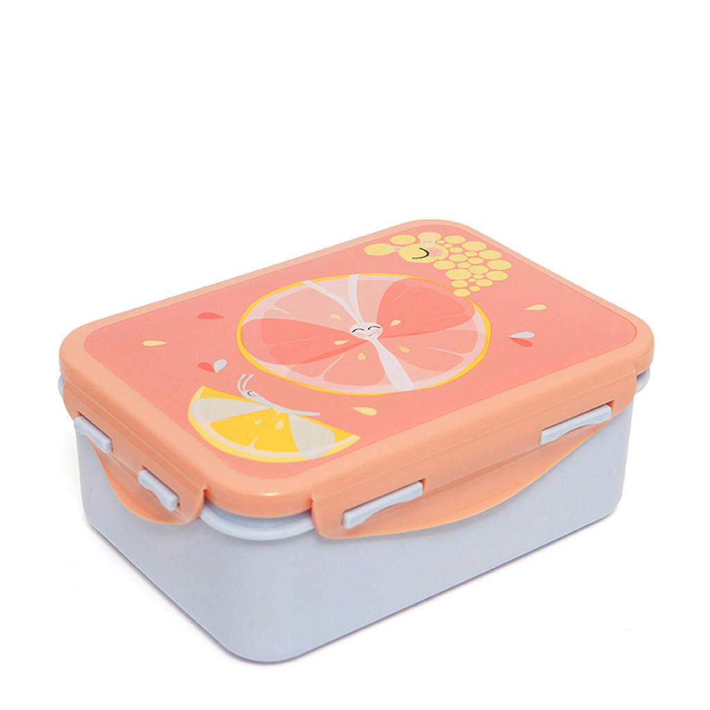 Petit Monkey lunchbox roze, Roze
