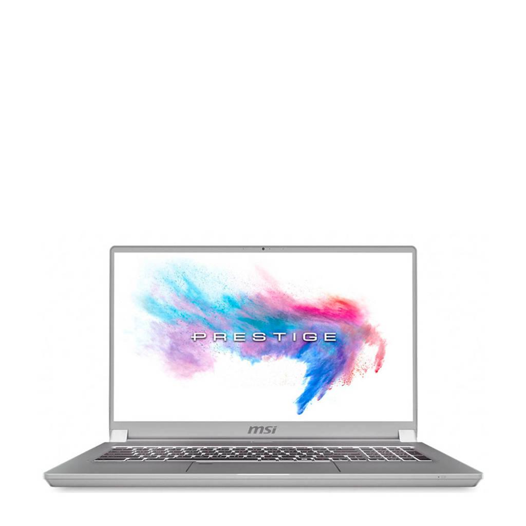 MSI P75 9SE-476NL 17.3 inch Full HD laptop, Zilver
