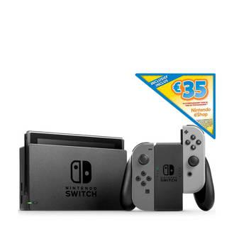 Switch (grijs) + € 35 eShop tegoed
