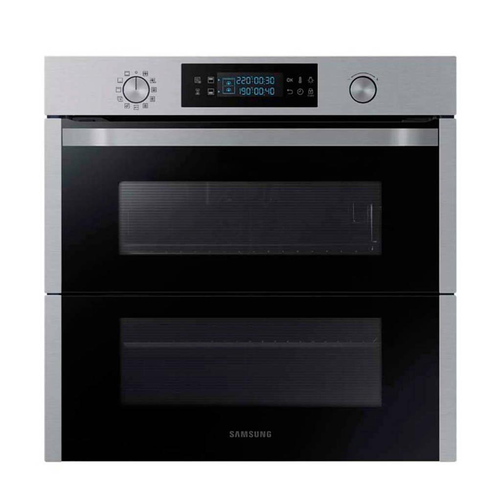 Samsung NV75N5671RS/EF dual cook flex inbouw grillbakoven, -