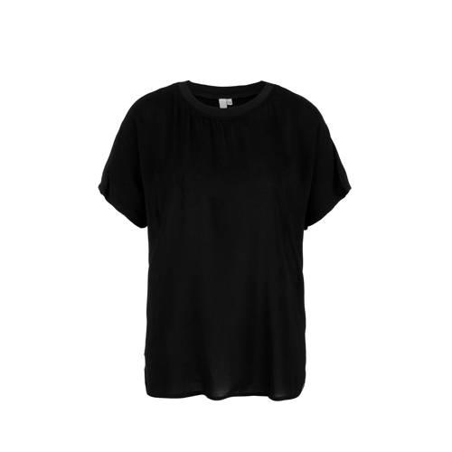 Q/S designed by T-shirt zwart