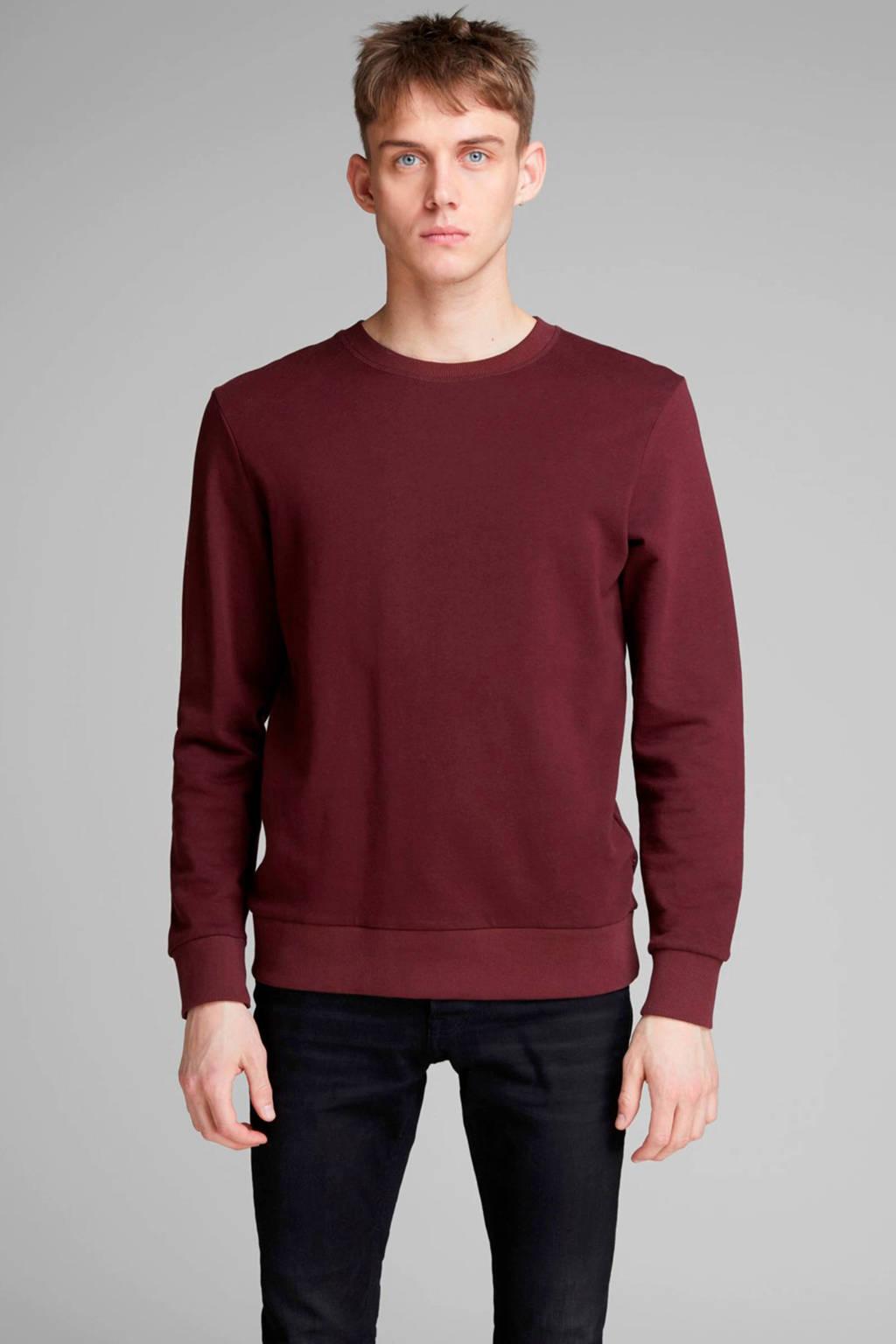 JACK & JONES ESSENTIALS sweater aubergine, Aubergine